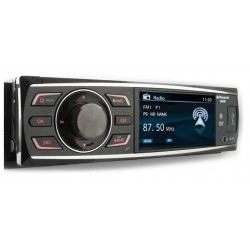 1 DIN Radio CD-MP3-DVD SD/USB BT